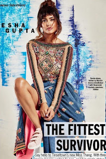 Esha Gupta Legs