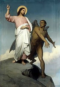 Ary Scheffer, The Temptation of Christ, 1854