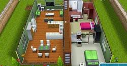 Sims Freeplay Hallway House Prebuilt Houses ~ Greenoid Gemzicle