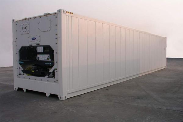 Kích thước container lạnh 40 feet