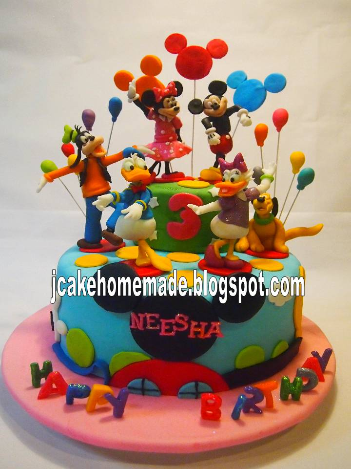 Photos Of Mickey Mouse Clubhouse Cakes