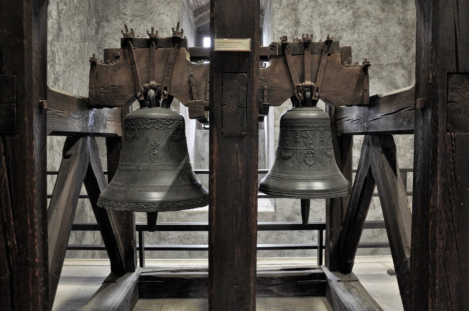 Old Bells in the Museum of Castelvecchio in Verona