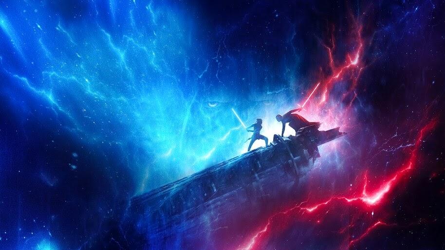 Wallpaper Star Wars Rise Of Skywalker Poster