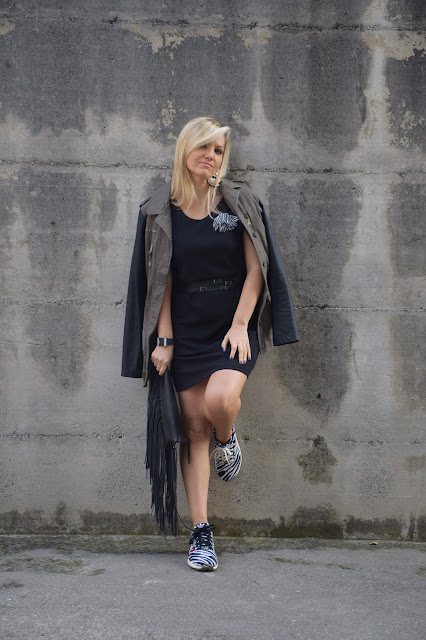 outfit nero come abbinare il nero abbinamenti nero outfit ottobre 2016 mariafelicia magno fashion blogger colorblock by felym fashion blog italiani fashion blogger italiane web influencer italiane