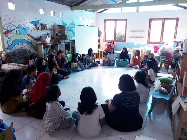 Anjang Kasih PAUD & PIA Nandan di Sekolah Gajawh Wong Ledok Timoho