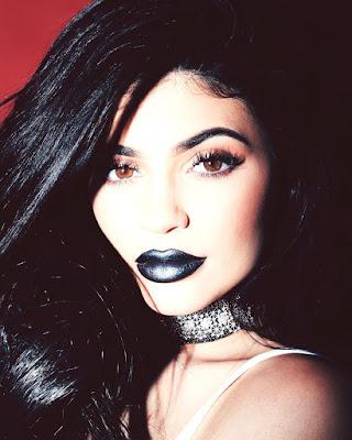 Kylie Cosmetics Majesty Black Metal Matte Lipstick