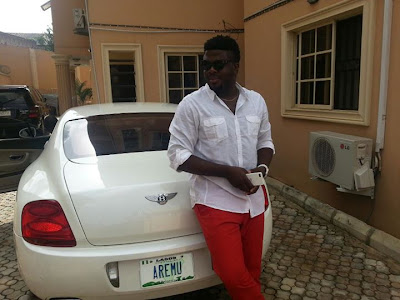 Aremu Afolayan AlabamaU2 EXCLUSIVE PHOTOS OF ALL NIGERIAN CELEBRITIES WHO ACQUIRED NEW CARS IN 2013