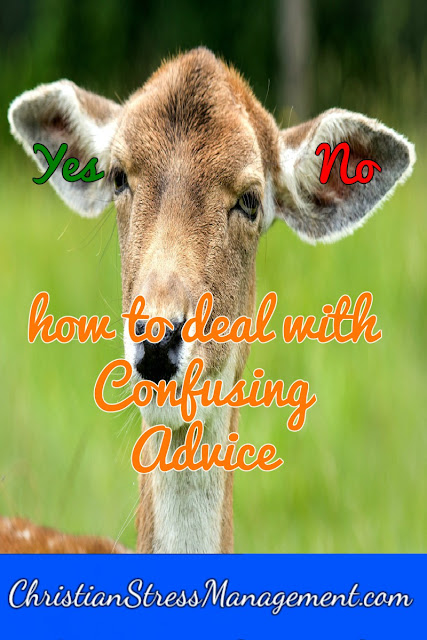 How to Deal with Confusing Advice