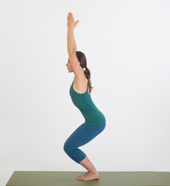 Utkatasana (Chair Pose) Yoga Steps and Benefits