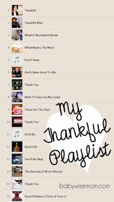 Thankful Playlist