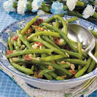 Green Beans with Bacon Recipe | Healthy Beans Bacon Recipe