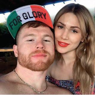 la nueva pareja del boxeador Saul Alvarez