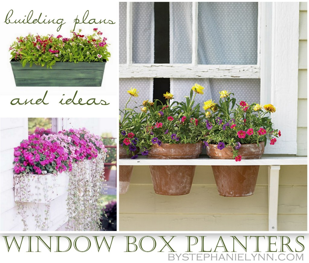 12 Outstanding Diy Planter Box Plans Designs And Ideas: Someday Crafts: 10 DIY Window Boxes