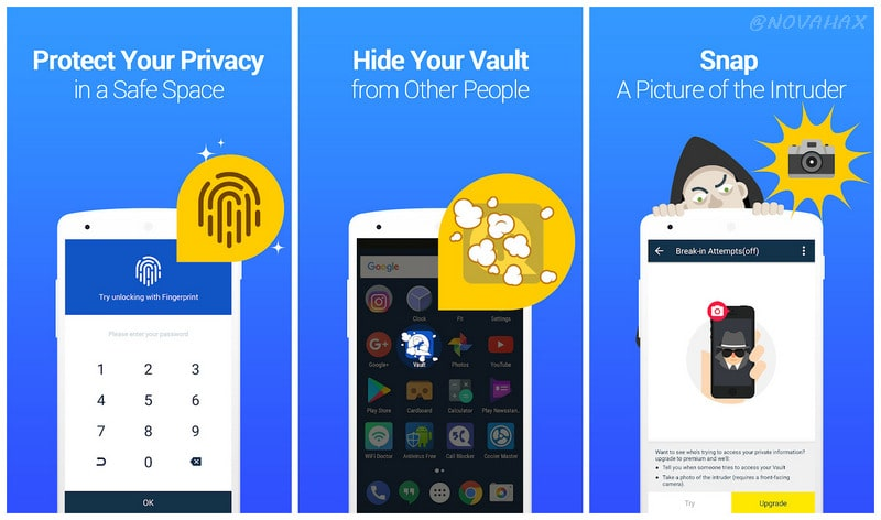 Vault-Hide v6 9 00 22 build 225 Cracked APK [Premium] | Novahax