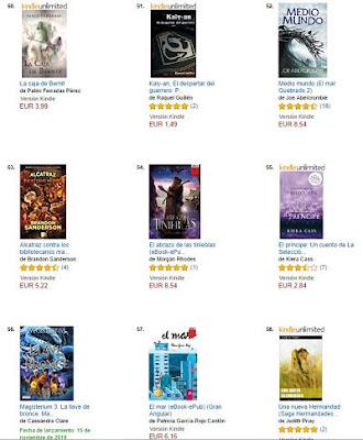 La caja de Bernit, clasificación 50, venta Amazon, best seller, Pablo Ferradas