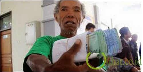Kakek pengemis punya duit Rp 11 juta