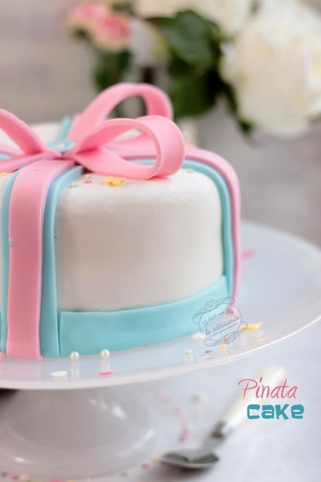 pinata cake sexe bébé