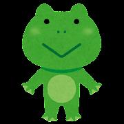 カエルのキャラクター