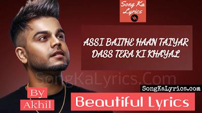 beautiful-song-lyrics-akhil-bob-punjabi-song