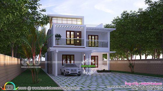 2250 square feet 4 bedroom modern Kerala home