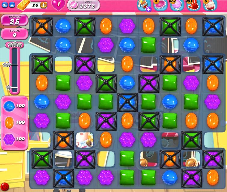 Candy Crush Saga level 2372