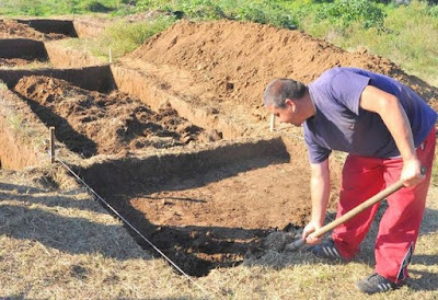 Bronze Age graves unearthed in NW Bulgaria
