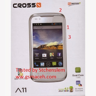 Cross a11 android phone