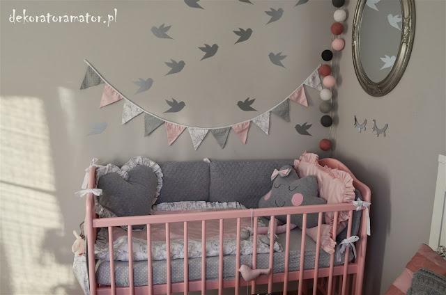 kącik niemowlaka w sypialni, sypialnia, kącik dla dziecka