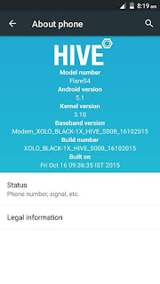 [ROM] Xolo Hive UI for Cherry Mobile Flare S4 [MT6753] Screenshots