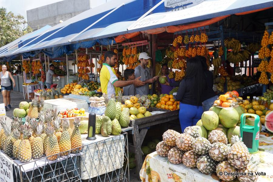Feirinha de frutas de Pium city tour Natal