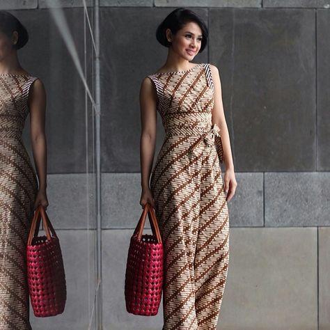 Model Baju Batik Gamis 20