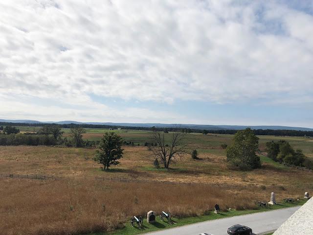 Overlooking Gettysburg Battlefields