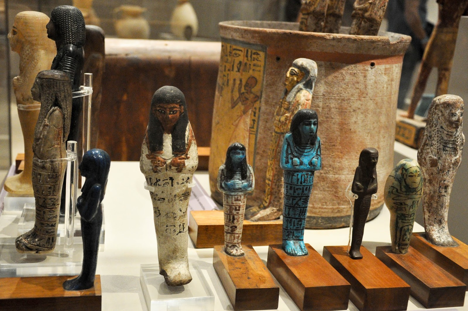Figurines, Egyptian museum , Turin, Italy