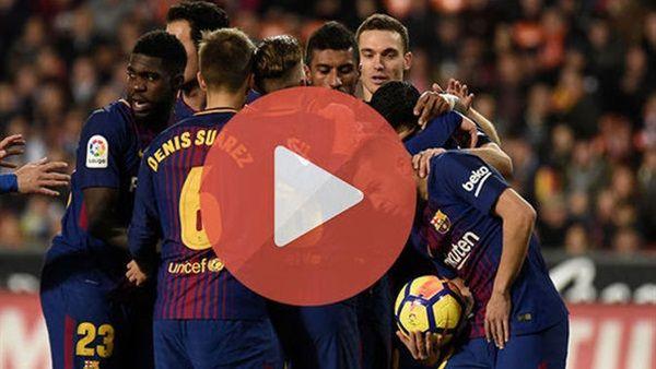 خسارة برشلونة امام ليفانتي 2-1 كأس ملك إسبانيا 2019