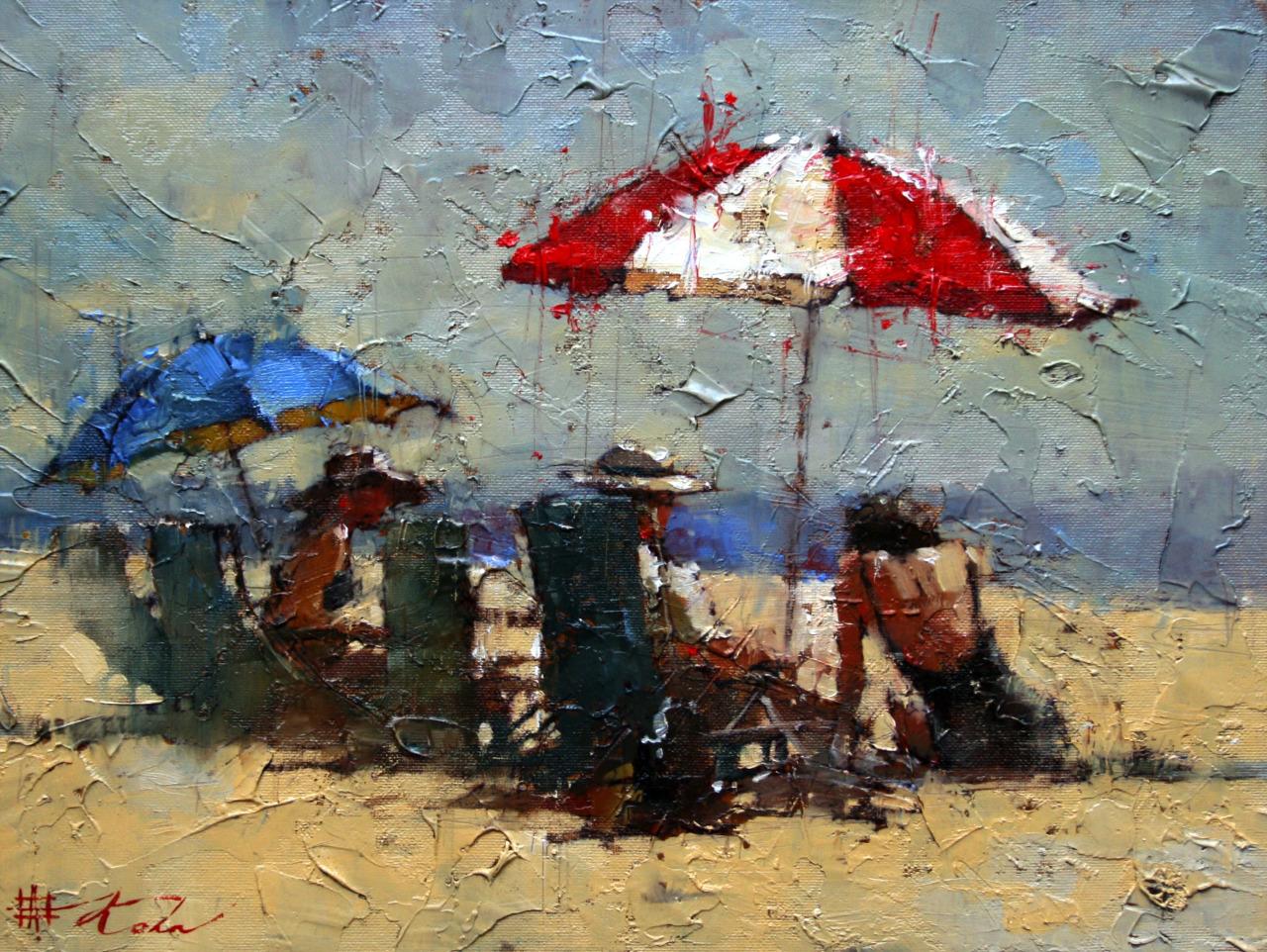 Andre Kohn  Impressionist Painter - Art People Gallery
