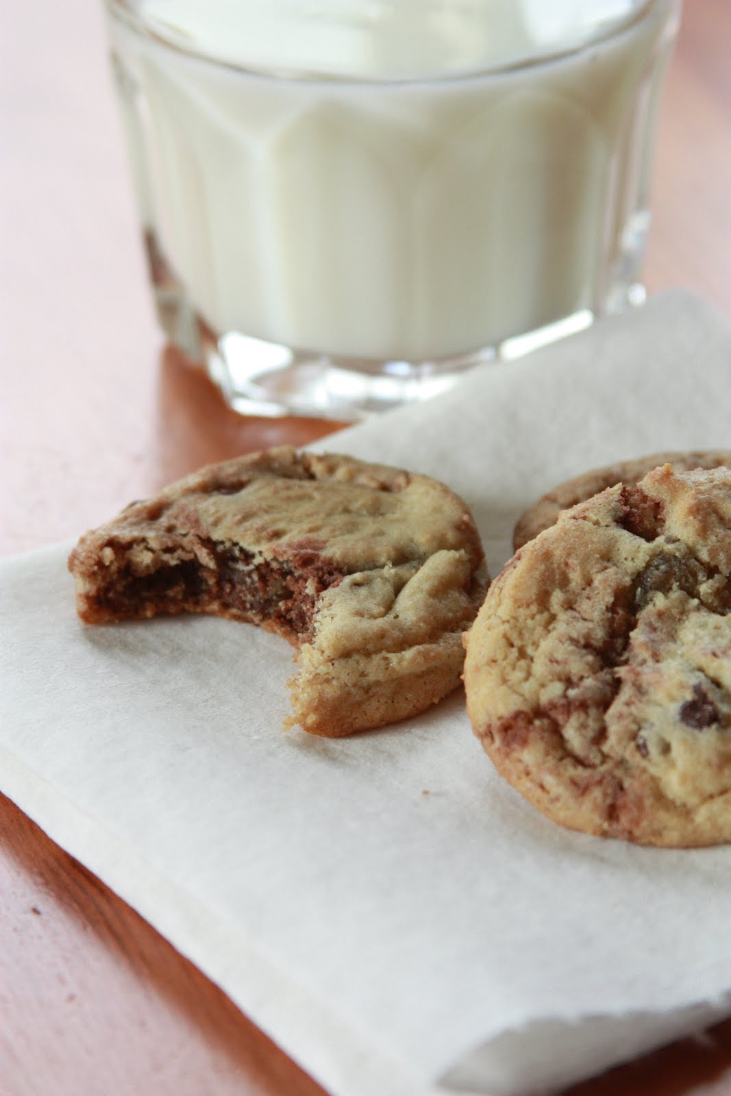 Front Burner: Nutella Chocolate Chip Cookies