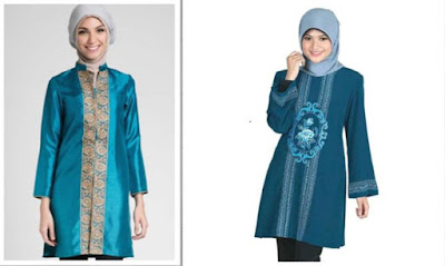 10 Model Baju Tunik Muslim Terbaru Update
