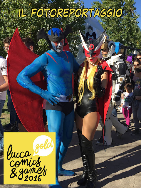 Lucca Comics and Games 2016 foto cosplayer
