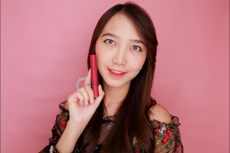 Perbedaan 3CE Velvet Lip Tint Asli dan Palsu