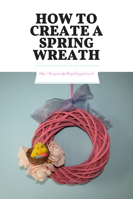 How to Create a Spring Wreath