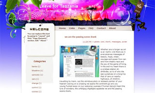 Leave for Tanzania Blogger Template