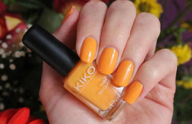 Оранжевый лак для ногтей - обзор