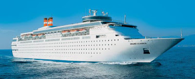 Bahamas Paradise Cruise Line Adds Second Ship Grand Classica to Grand Bahama Island in the Bahamas.