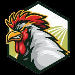 logo ayam jago petarung