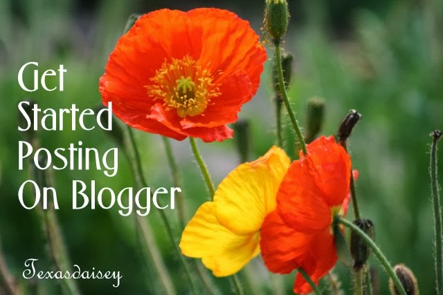 How To Make your first post on Blogger