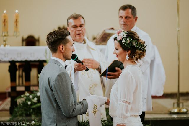 Przysięga ślubna.