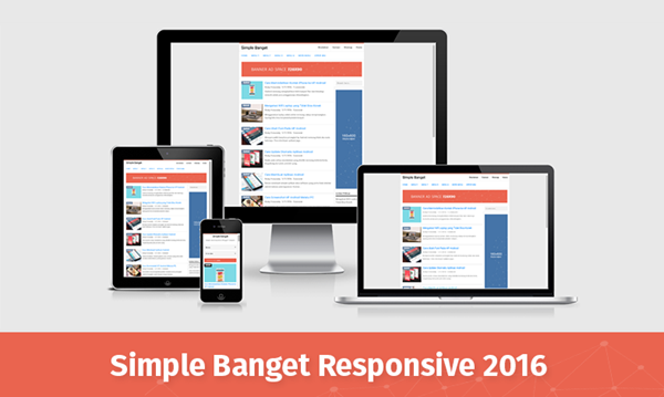 Simple Banget 2016 Responsive Blogger Templates