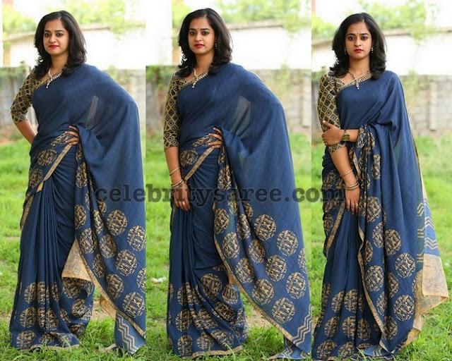 Nandita Raj Printed Saree