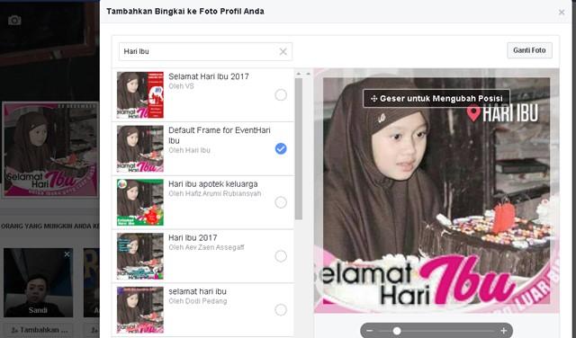 Frame FB Hari Ibu