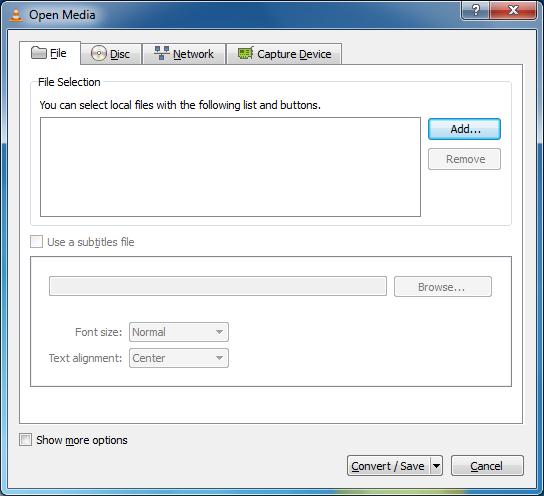 Convert video file format using VLC player ~ VLC Media Player Secrets